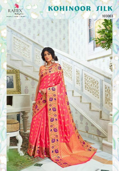 Rajtex Kohinoor Silk 103003 Price - 1300