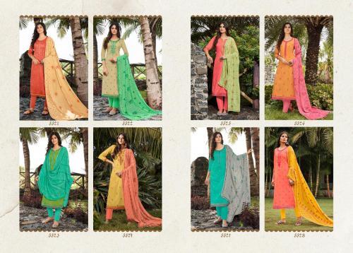 Kessi Fabrics Taj 5521-5528 Price - 6792