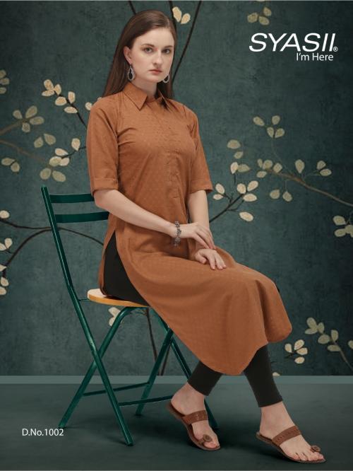 Syasii Designers Classic 1002 Price - 375