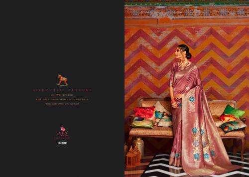 Rajtex Saree Kandira 116001-116006 Series