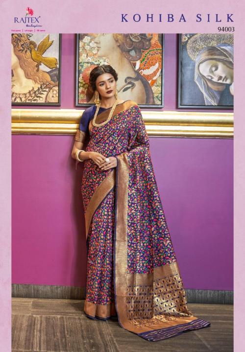 Rajtex Kohiba Silk 94003 Price - 2200