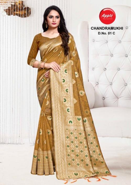 Apple Saree Chandramukhi 01-C  Price - 895