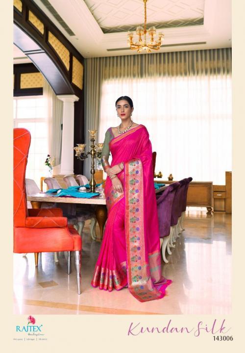 Rajtex Kundan Silk 143006 Price - 935