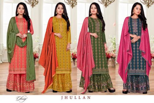Glossy Jhullan Colors  Price - 9380