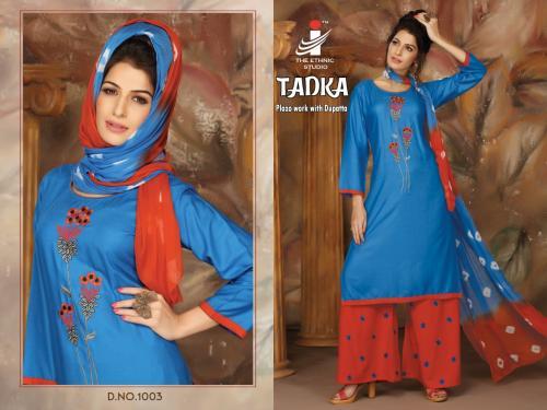 The Ethnic Studio Tadka 1003 Price - 775