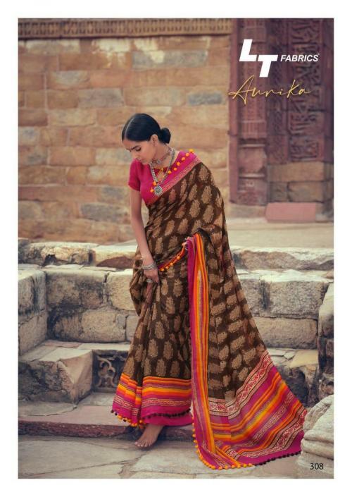 Lt Fabrics Nitya Aurika 308 Price - 570