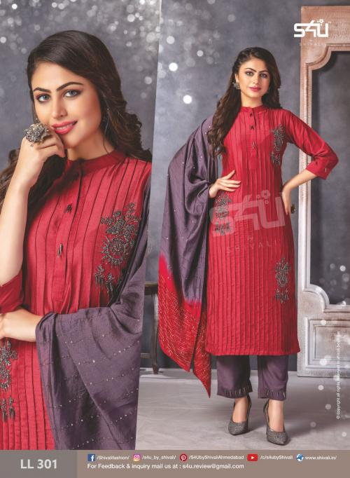 S4U Shivali Limelight Vol-3 301-307 Series
