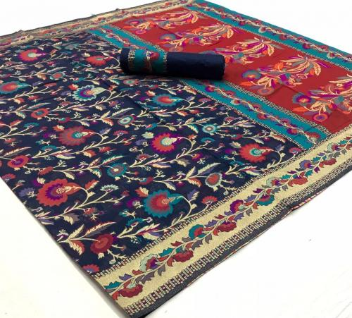 Rajtex Saree Khyber Silk 140004  Price - 2195