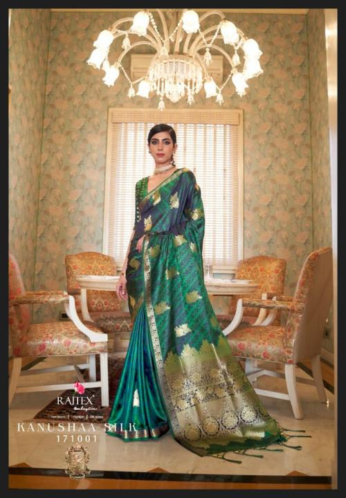 Rajtex Saree Kanushaa Silk 171001 Price - 1560