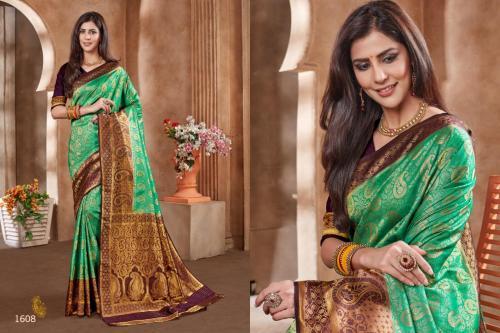 Jyotsana Saree Kanjivaram Silk 1608 Price - 2250