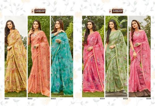 Sangam Prints Nupur 8001-8006 Price - 8880