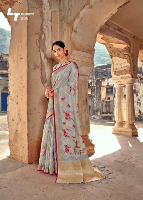 Lt Fabrics Musleen Silk 32008 Price - 1550