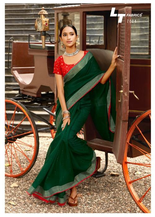 LT Fabrics Ananta Silk 7004 Price - 1195
