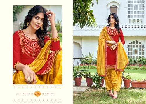 Kessi Fabrics Shangar By Patiala House 5971 Price - 949