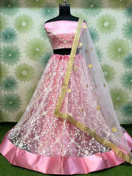 Bollywood Designer  Embroidered Lehenga RC-186 Colors