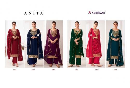 Aashirwad Creation Anita 8390-8395 Price - 10170