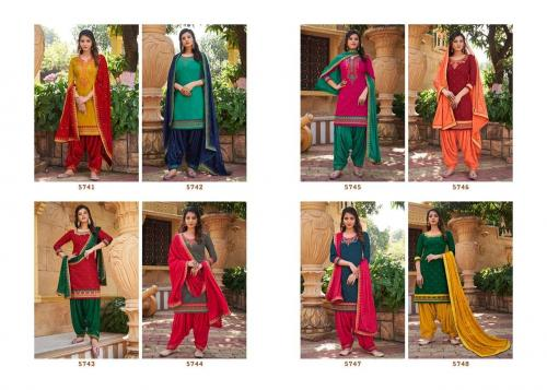 Kessi Fabrics Patiyala House 5741-5748 Price - 7192
