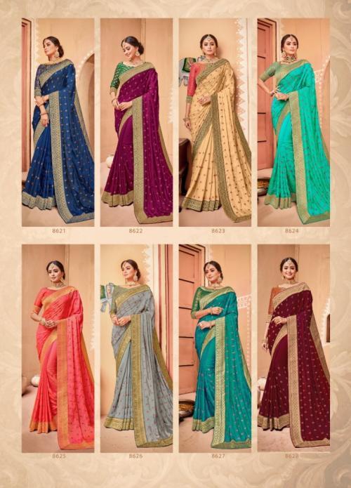 Shangrila Saree Kalyani 8621-8628 Price - 12760