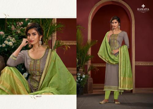 Kessi Fabrics Ramaiya Palkhi 10137 Price - 899