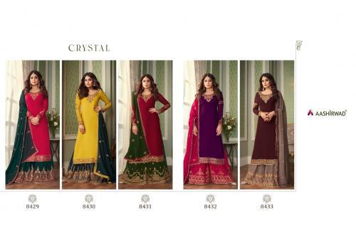 Aashirwad Creation Crystal 8429-8433 Price - 12475