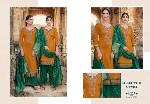 Kessi Fabric Lashkara Vol-2 5751-5758 Series