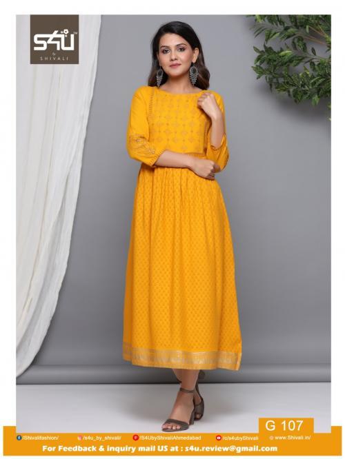 S4U Shivali Gold 107 Price - 629