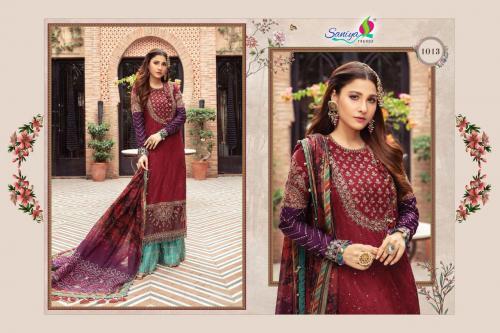 Saniya Trendz Mariya B Sateen Collection-21 Vol-5 1013-1016 Series