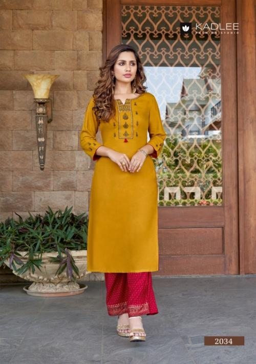 Kadlee Fashion Pankh Vol-5 2034-2039 Series