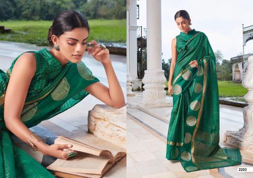 LT Fabrics Saree Aroma 2203