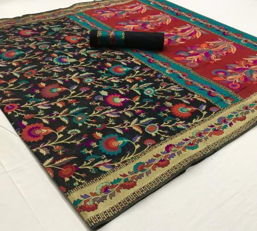 Rajtex Saree Khyber Silk 140006  Price - 2195