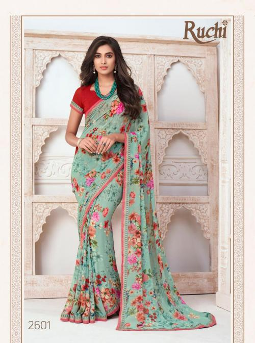 Ruchi Saree Inaayat 2601-2612 Series
