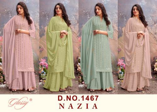 Glossy Nazia 1467 Colors Price - 8780