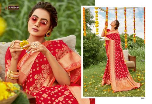 Sangam Prints Shivoham Silk 9001-9006 Series