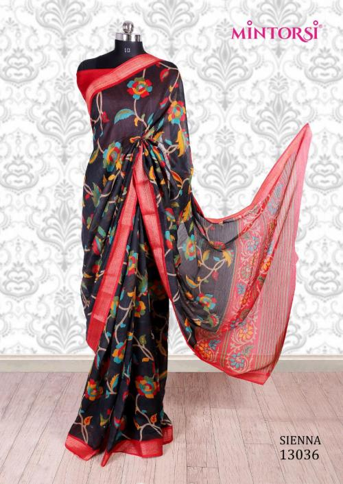 Mintorsi Saree Sienna 13036 Price - 670