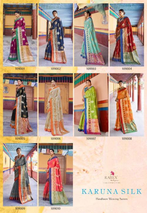 Rajtex Karuna Silk 109001-109010 Price - 10950
