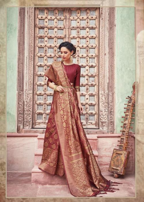 Elina Fashion Kumkum Silk 2109 Price - 990
