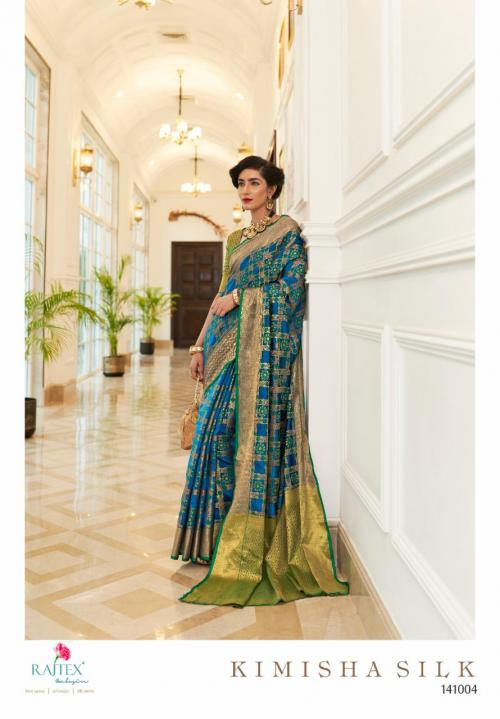 Rajtex Saree Kimisha Silk 141004 Price - 1195