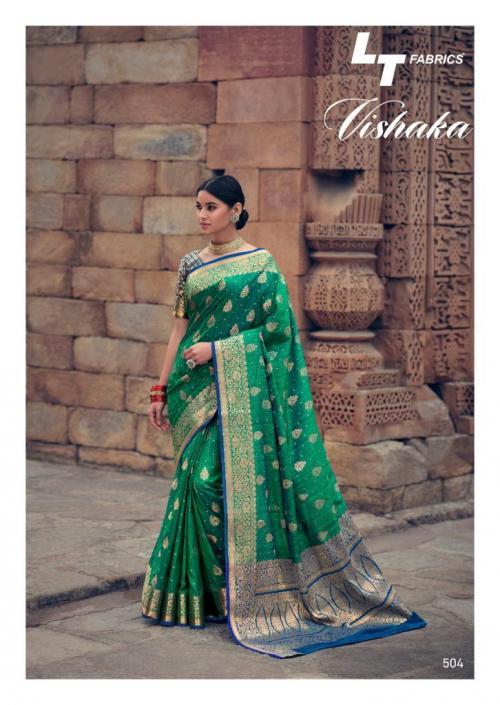 LT Fabrics Vishaka Silk 504 Price - 1125
