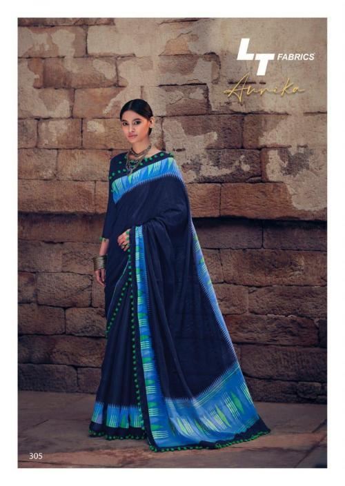 Lt Fabrics Nitya Aurika 305 Price - 570