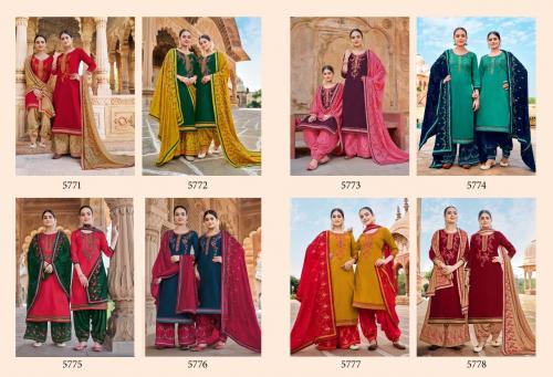 Kessi Fabric Panetar By Patiala 5771-5778 Price - 7592