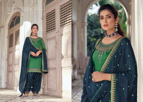 Kessi Fabric Patiala House 5886 Price - 849