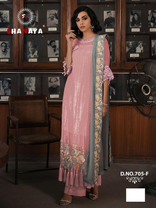 Shanaya Fashion Rose Craft Edition 705-F Price - 1275