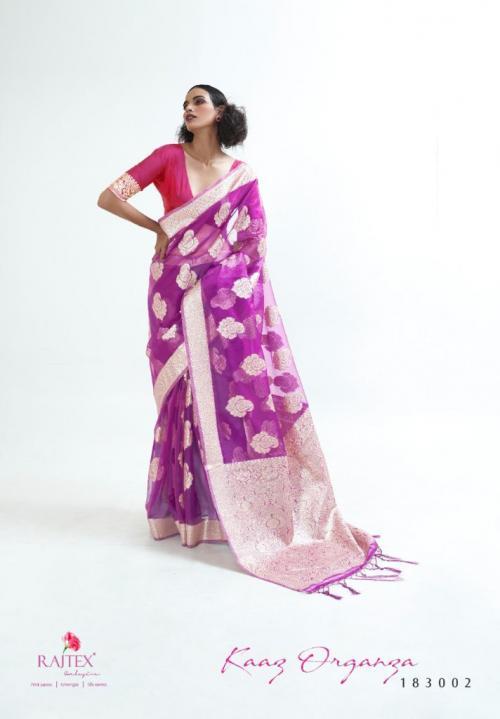 Raj Tex Kaaz Organza 183002 Price - 1725