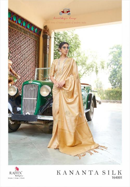 Rajtex Saree Kananta Silk 164001 Price - 1495