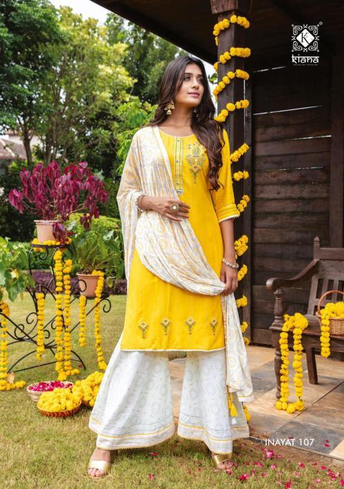 Kiana Fashion Inayat 107 Price - 1140