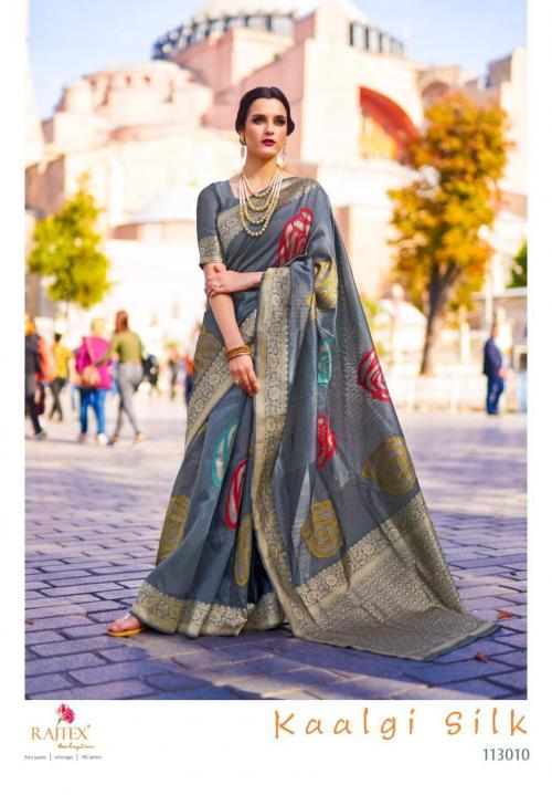Rajtex Saree Kaalgi Silk 113010 Price - 1560