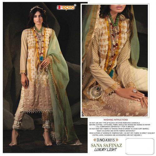 Fepic Rosemeen Sana Safinaz Luxury Light 43015-43022 Series