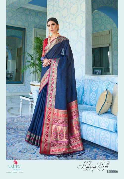 Rajtex Saree Katriya Silk 130006  Price - 1360