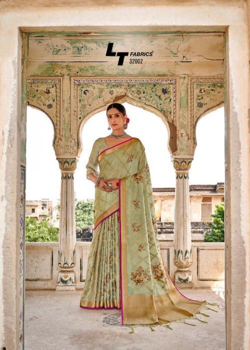 Lt Fabrics Musleen Silk 32003 Price - 1550