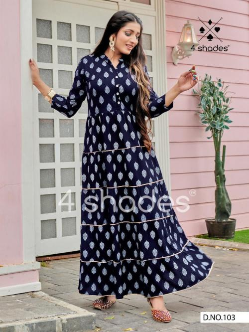 Blue Hills 4 Shedes Sundari 103 Price - 645